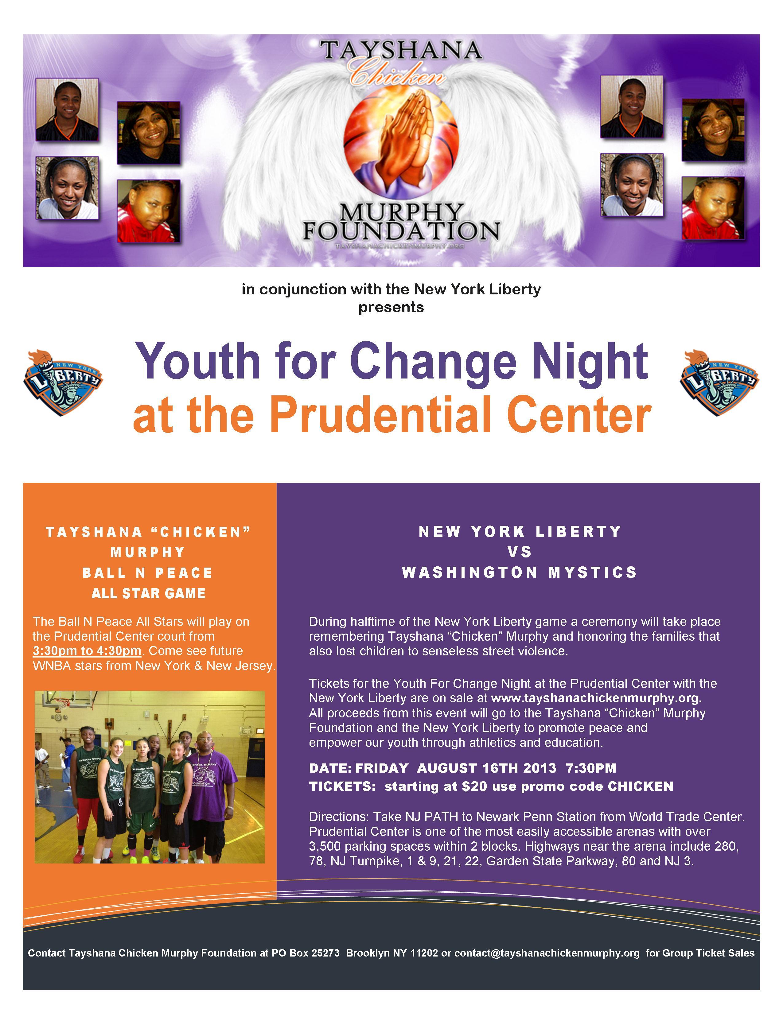 NYL-2013-TayshanaMurphyFoundation-Youth-for-Change-Night