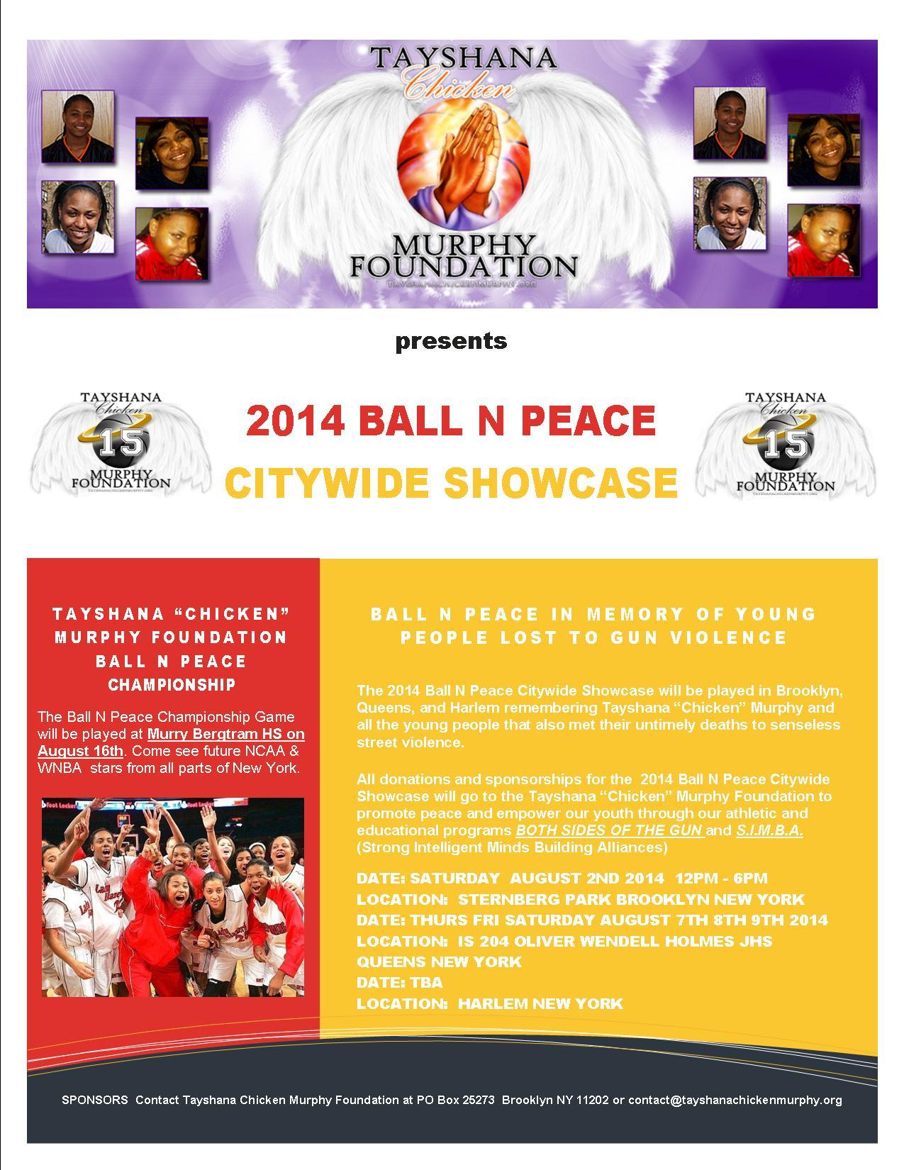 2014 Ball N Peace Citywide Showcase