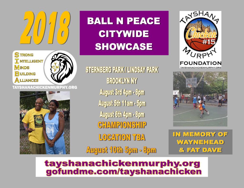2018 BALL N PEACE CITYWIDE SHOWCASE