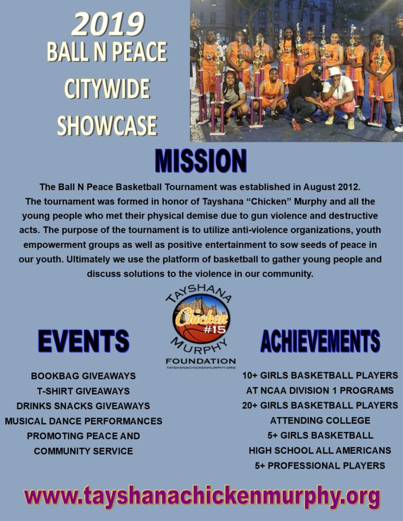 2019 BALL N PEACE CITYWIDE SHOWCASE ONE PAGER v2